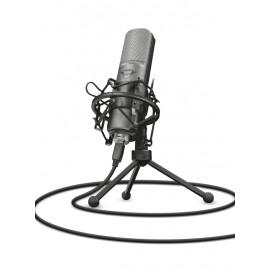 Trust GXT 242 Table microphone Alámbrico Negro 22614