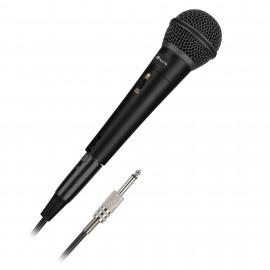 NGS Singer Metal Karaoke microphone Alámbrico Negro SINGERMETAL