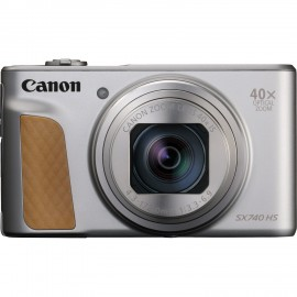 Canon PowerShot SX740 HS Cámara compacta 20,3 MP 1/2.3'' CMOS Plata 2956C002