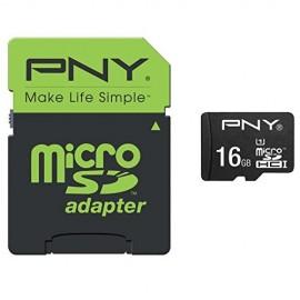 PNY MicroSD Performance 16GB MicroSDHC UHS-I Clase 10 memoria flash SDU16GPER50-EF