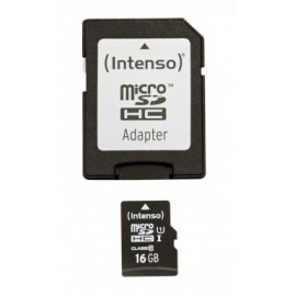 Intenso microSDHC Card 16GB Premium Class 10 UHS-I 3423470