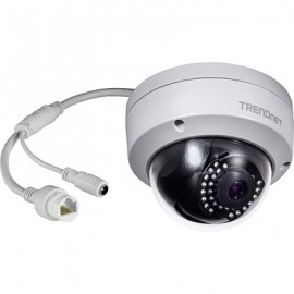 Trendnet Cámara de seguridad IP Interior y exterior Almohadilla Negro, Blanco  TV-IP325PI
