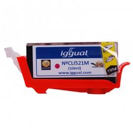 Cartucho Reciclado Canon CLI521M Magenta PSICLI521M