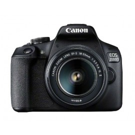 Canon EOS 2000D BK 18-55 IS + SB130 +16GB  SLR 24,1 MP  Negro 2728C013