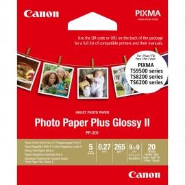 Canon papel fotográfico Blanco Brillo 2311B070