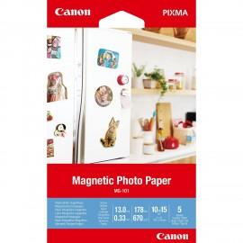 Canon papel fotográfico Blanco A4 3634C002