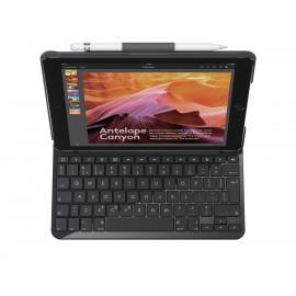 Logitech Slim Folio teclado para móvil Negro QWERTY Español Bluetooth 920-009022