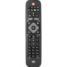 One For All IR inalámbrico Botones Negro, Gris mando a distancia URC1913