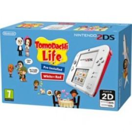 Nintendo 2DS + Tomodachi Life Rojo, Blanco 2204949
