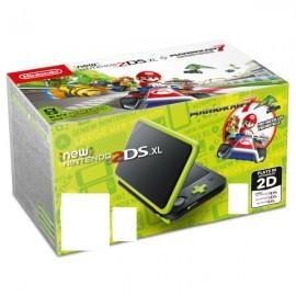 Nintendo New 2DS XL + Mario Kart 7 4.88'' Negro Verde 2219066