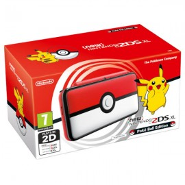 Nintendo New 2DS XL Poké Ball Edition Wifi Negro, Rojo, Blanco 2209666