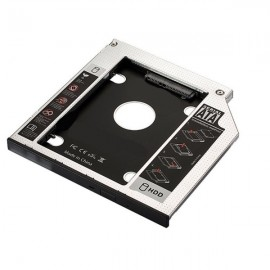 Ewent EW7003 Aluminio Negro, Blanco