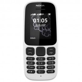 Nokia 105 DS 1.8'' Blanco 6438409605580