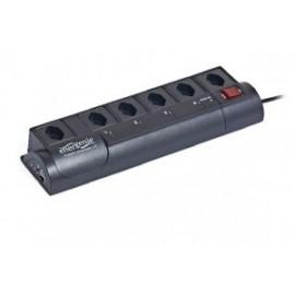 EnerGenie EG-PMS2-LANSW 6AC outlet(s) 250V 1.8m Negro limitador de tensión