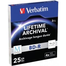 Verbatim  25GB BD-R 3pieza(s) disco blu-ray lectura/escritura (BD) 43827