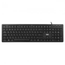 3GO KBALLIGATOR teclado USB QWERTY Español Negro KBALLIGATOR