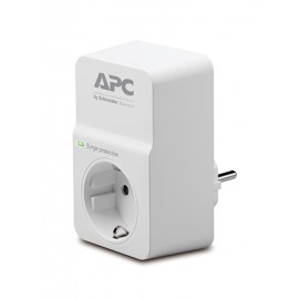 APC ESSENTIAL SURGEARREST limitador de tensión 1 salidas AC 230 V Blanco PM1W-IT