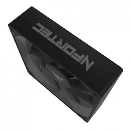 Nfortec Aquila 80 - Ventilador suplementario, Color Negro AQUILA 80