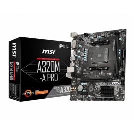 MSI A320M-A PRO  AM4 Micro ATX AMD A320