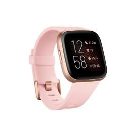 Fitbit Versa 2 reloj inteligente Negro, Oro rosa AMOLED  (1.4'') FB507RGPK