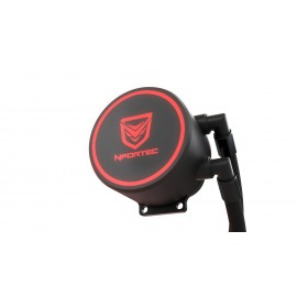 Nfortec Hydrus V2 Refrigeración Líquida 120mm con Ventilador LED Red