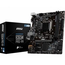 MSI B365M PRO-VH placa base LGA 1151 (Zócalo H4) Micro ATX Intel B365 7C31-004R
