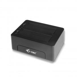 i-tec USB 3.0 Docking Station para discos duros de 2.5''/3.5'' SATA I/II/III HDD SSD U3CLONEDOCK
