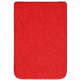 Pocketbook WPUC-627-S-RD funda para libro electrónico Folio Rojo (6'') wpuc-627-s-rd