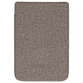 Pocketbook  funda para libro electrónico Folio Marrón, Gris  (6'') wpuc-627-s-gy