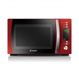 Candy CMXG20DR Encimera Microondas con grill 20L 700W Negro, Rojo, Acero inoxidable