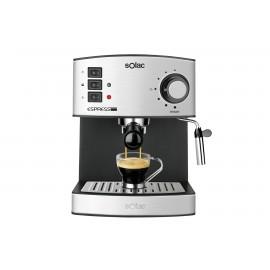 Solac CE4480 Independiente Semi-automática Máquina espresso 1.2L 2tazas Acero inoxidable cafetera eléctrica CE4480 CE4480