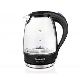 Taurus Aroa Glass tetera eléctrica 1,7 L Negro, Transparente 2200 W 958511000