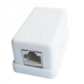 iggual PSINCAC-FS-SMB1 RJ-45 Blanco toma de corriente PSINCAC-FS-SMB1