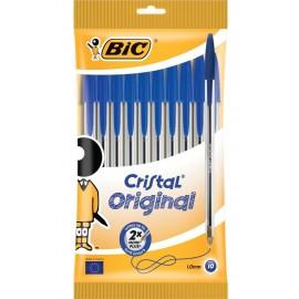 BIC 830863 Stick ballpoint pen Azul 10pieza(s) bolígrafo 830863
