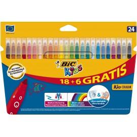BIC 841803 Medio Multicolor 24pieza(s) rotulador 841803