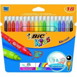 BIC Kid Couleur Medio Multicolor 18pieza(s) rotulador 841799