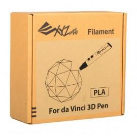 XYZprinting RFPLDXTW00H Ácido poliláctico (PLA) Azul, Verde, Naranja, Rojo, Blanco, Amarillo 216g material de impresión 3d