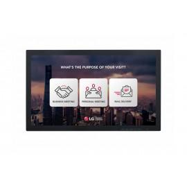LG 23SE3TE-B pantalla de señalización 58,4 cm (23'') LCD Full HD Pantalla táctil