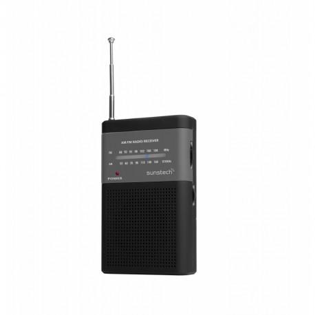 Sunstech RPS42 radio Portátil Analógica Negro