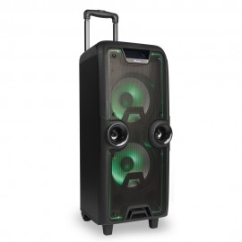 NGS ALTAVOCES 2.1 WILD ROCK BLUETOOTH Trolley Public Address (PA) system 200W Negro WILDROCK