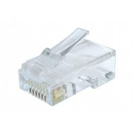 Gembird LC-8P8C-002/10 RJ-45 Transparente conector LC-8P8C-002/10