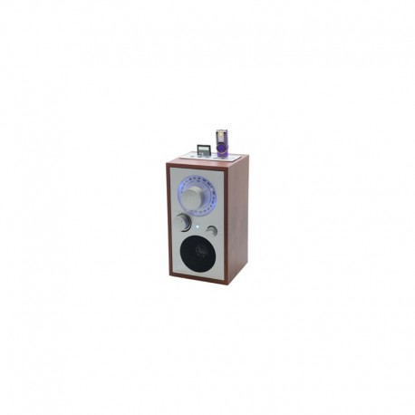 Sunstech RPR3000 Personal Analógico y digital Plata, Madera radio