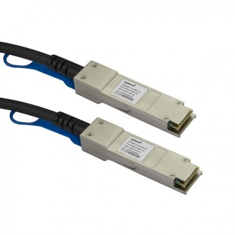 StarTech.com Cable SFP+ de 5m Direct Attach - Latiguillo Twinax Pasivo Compatible con HP JG081C 10G SFP+ JG081CST
