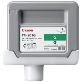 Canon PFI-301G Pigment Green Ink Cartridge Pigmento verde cartucho de tinta 1493B001