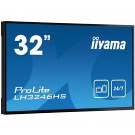 iiyama LH3246HS-B1 pantalla de señalización 80 cm (31.5'') LED Full HD Pantalla plana para señalización digital Negro