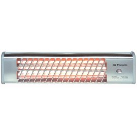 Orbegozo BB 5000 Calentador de cuarzo Plata 1200 W 13044