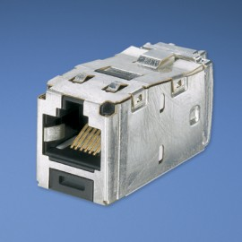 Panduit Mini-Com® TX6™ 10Gig™ Shielded Jack Module - TG Style Gris adaptador de cable CJS6X88TGY
