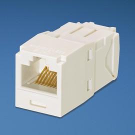 Panduit UTP RJ-45 MiniJack kat6, white Blanco adaptador de cable CJ688TGAW