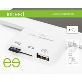 PINBOX  lector de tarjeta Blanco Apple 30-p indipad51