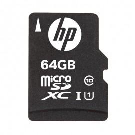 HP SDU64GBXC10HP-EF memoria flash 64 GB MicroSDXC Clase 10 UHS-I SDU64GBXC10HP-EF